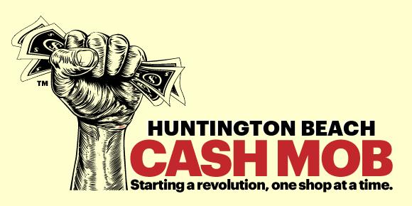 Huntington Beach Cash Mob