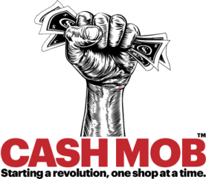 Local Cash Mobs - Starting a revolution one shop at a time.